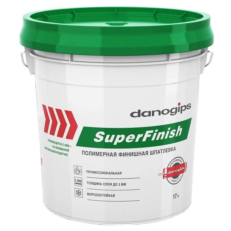 Шпатлевка универсальная Danogips SuperFinish 17 л