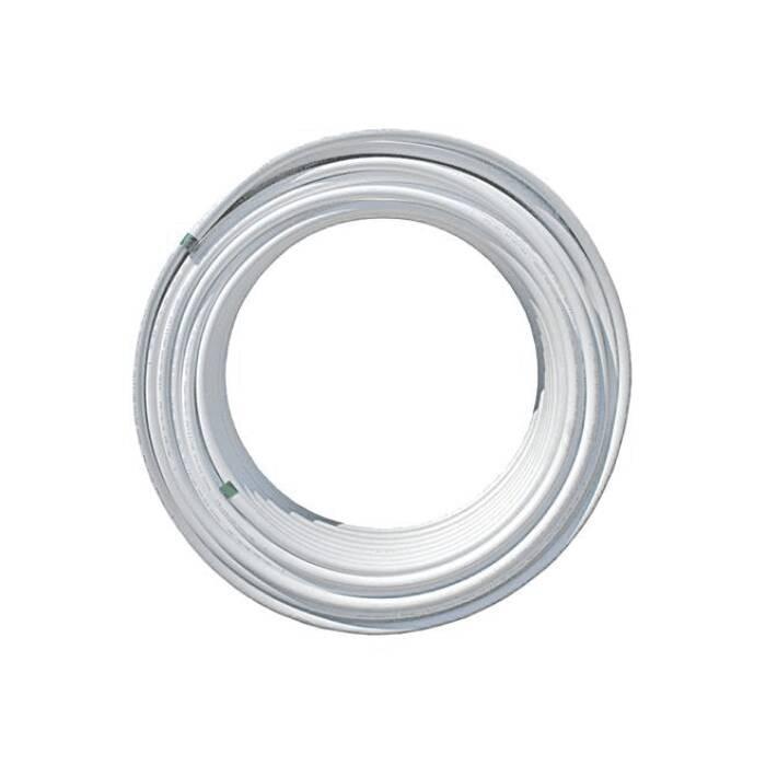 Труба МП PEX-AL-PEX 6001 Дн 26х3,0 Ру10 бухта 100м белый 95С Aquasfera 6001-03