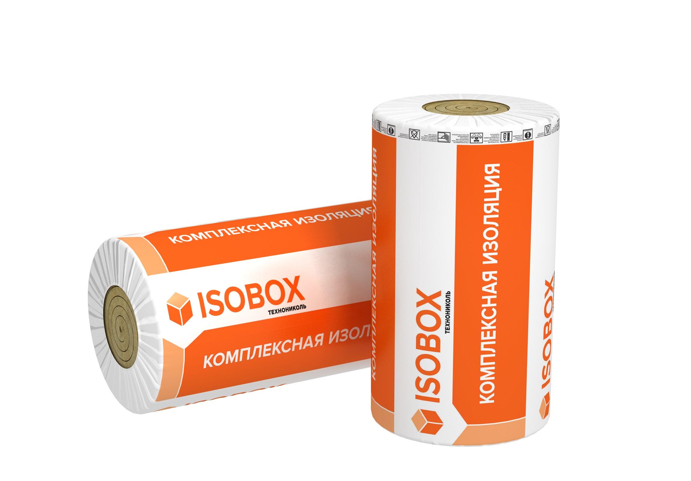 Базальтовая вата Isobox Теплоролл 5000х1200х50 мм