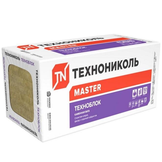 Базальтовая вата Технониколь Техноблок Стандарт 1200х600х100 мм 6 штук