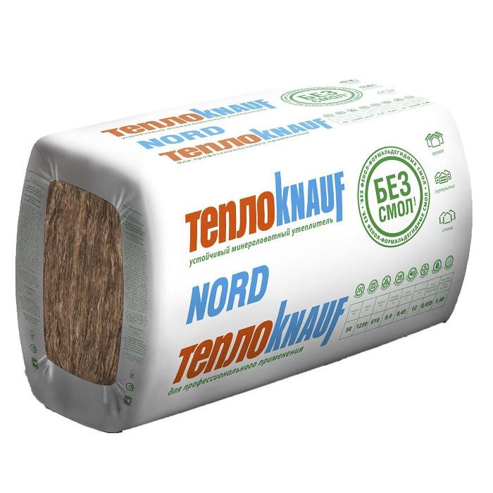Теплоизоляция ТеплоKnauf Nord TS035 1230х610х50 мм
