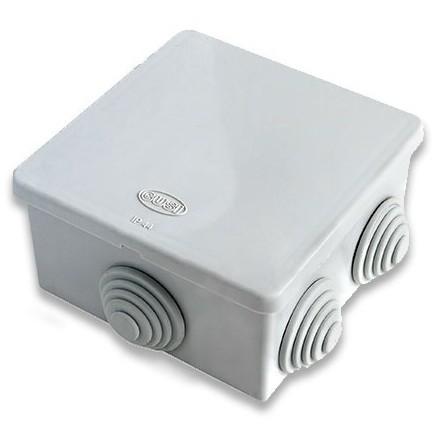 Коробка распределительная Gusi С3В86 Евро серая IP54 80х80х40 мм