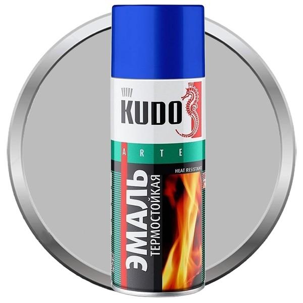 Эмаль аэрозольная термостойкая Kudo KU-5001 520 мл