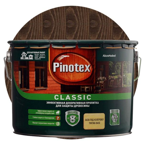 Пропитка для древесины Pinotex Classic Палисандр 9 л