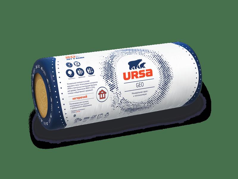Теплоизоляция Ursa GEO М-25 9000х1200х50 мм