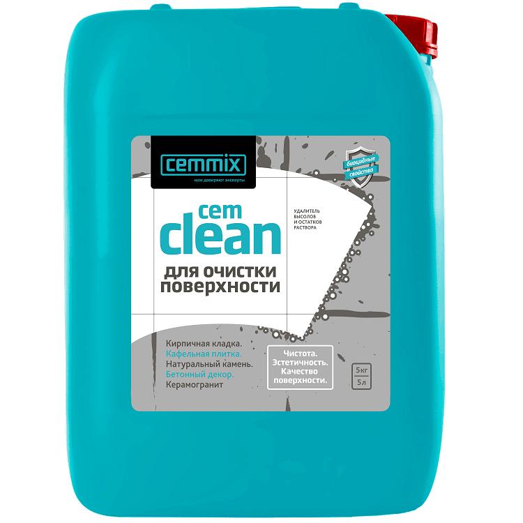 Очищающее средство Cemmix Cem Clean 5 л для высолов и остатков раствора