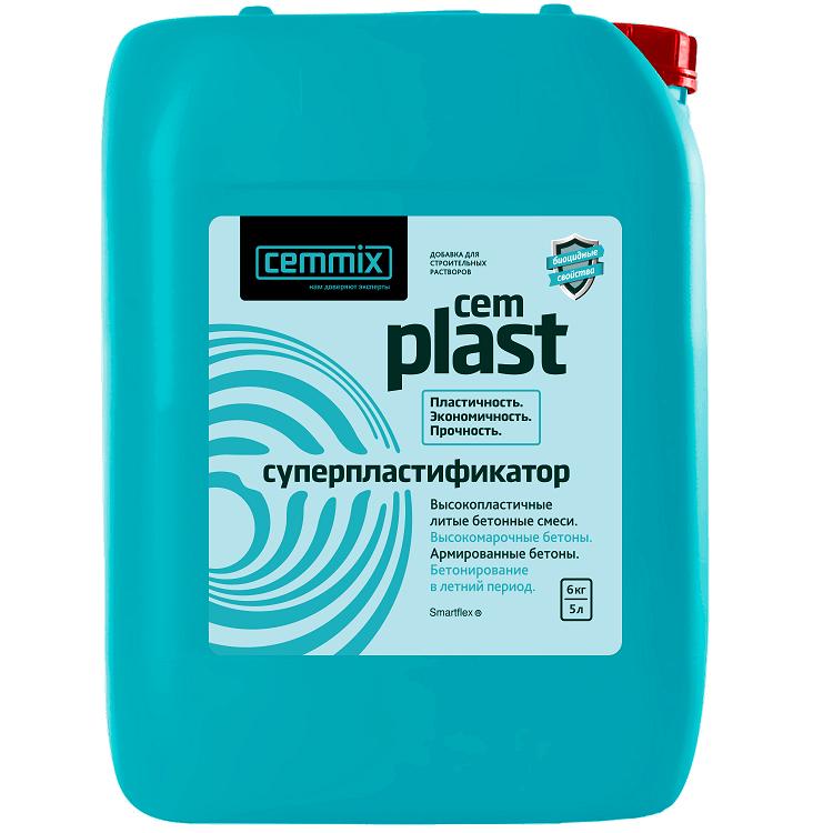 Супер-пластификатор Cemmix Cem Plast 5 л