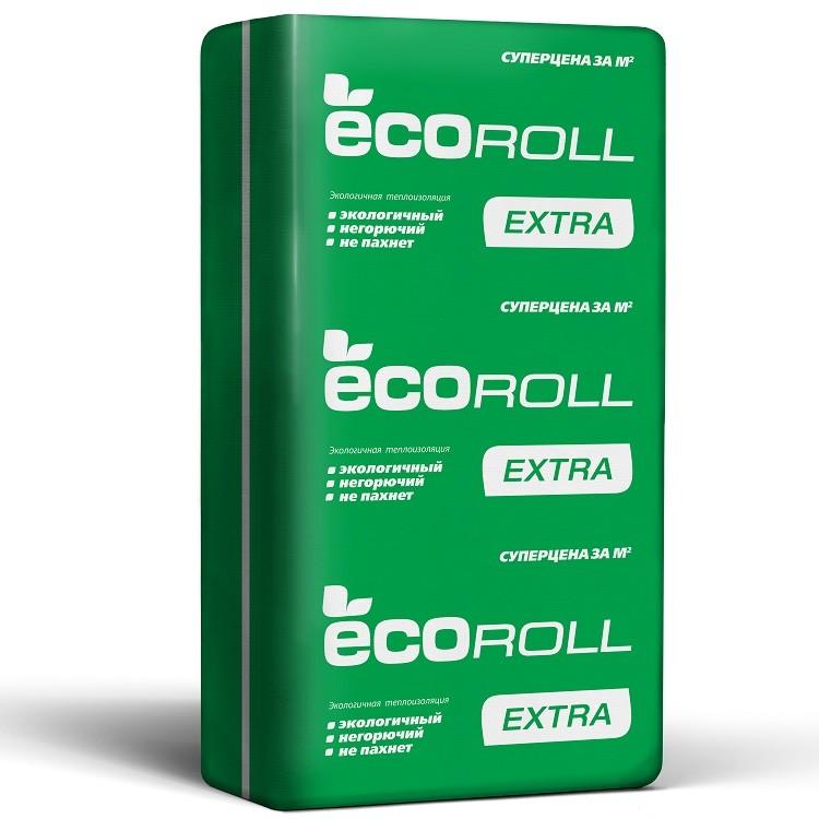 Теплоизоляция EcoRoll Экстра Плита 037 1230х610х50 мм