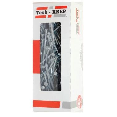 Гвозди строительные Tech-Krep оцинкованные 4,0х100 мм