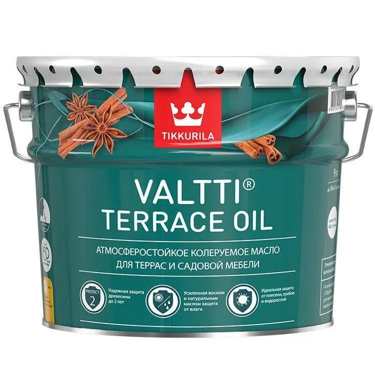 Масло для наружных работ Tikkurila Valtti Terrace oil 9 л