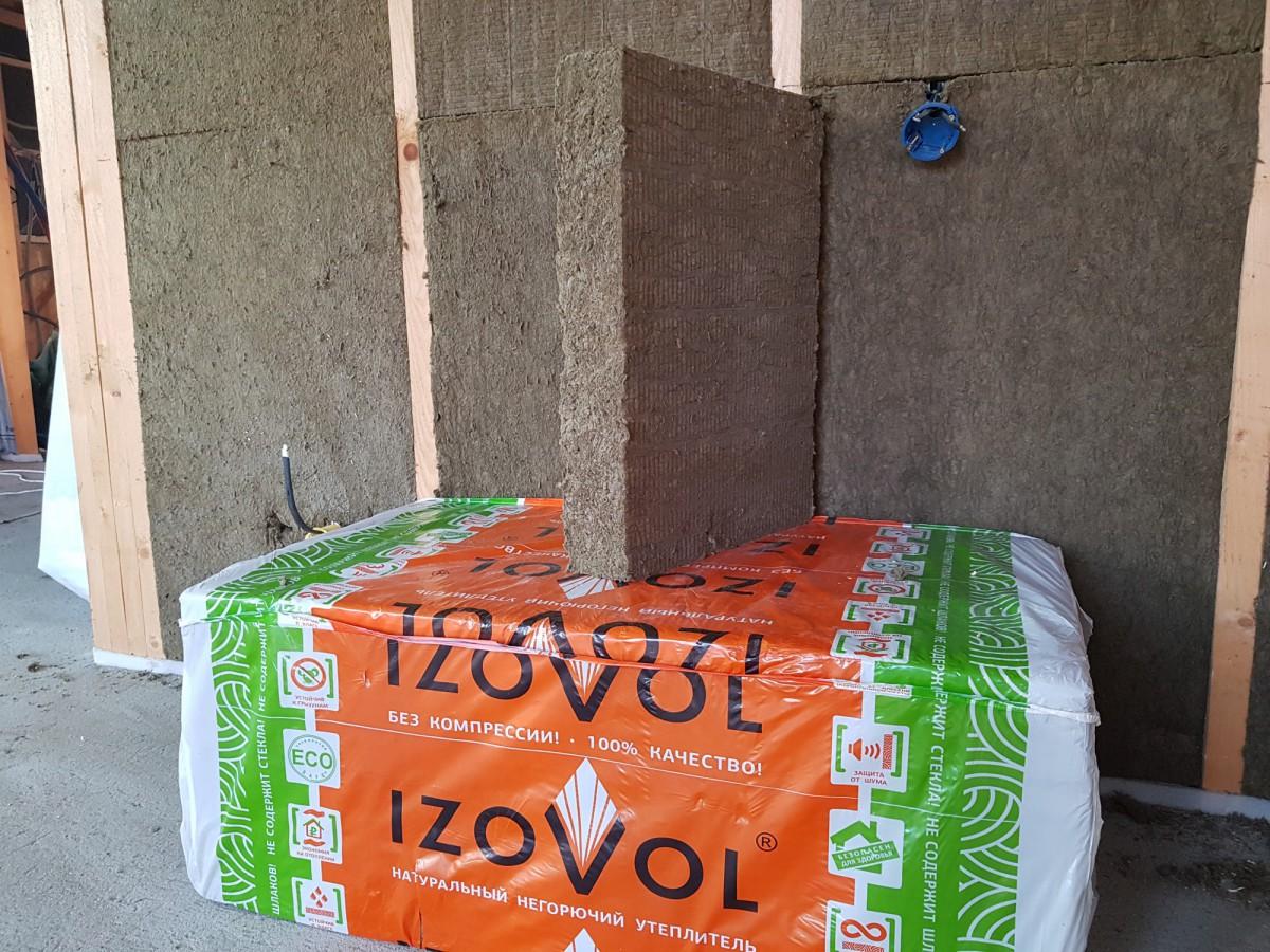 Теплоизоляция Izovol Ст-50 1000х600х50 мм
