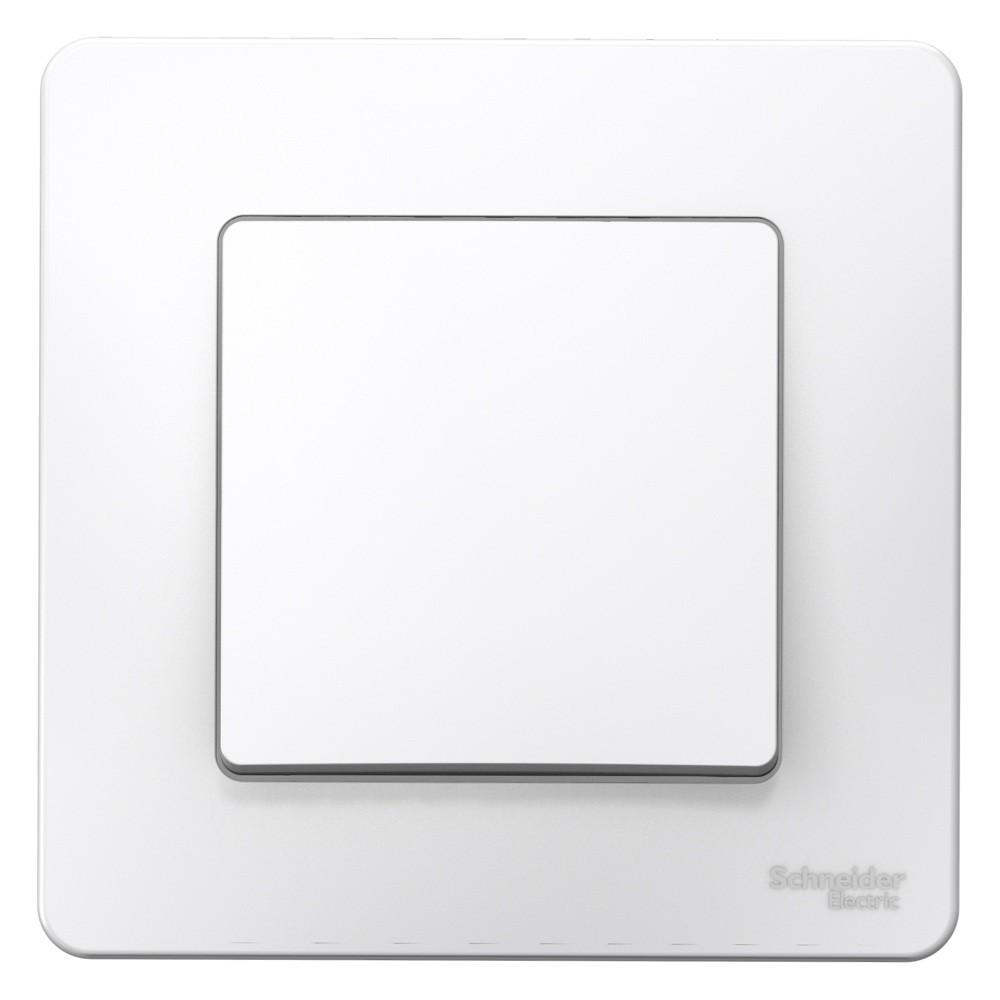 Выключатель Schneider Electric Blanca BLNVS010101 одноклавишный белый