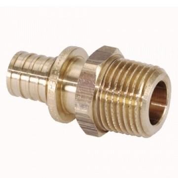 Переходник латунный Rehau MX 16-R 3/4 дюйма с наружной резьбой