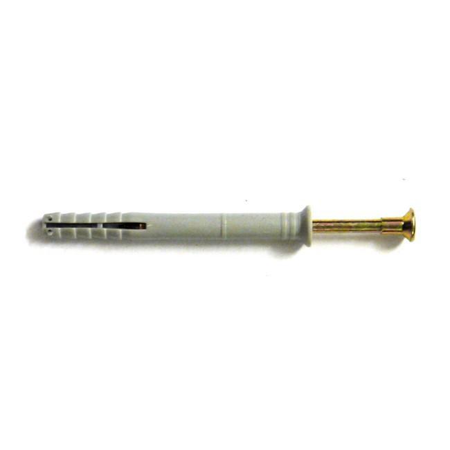 Дюбель-гвоздь 8х80 мм с потайным бортиком