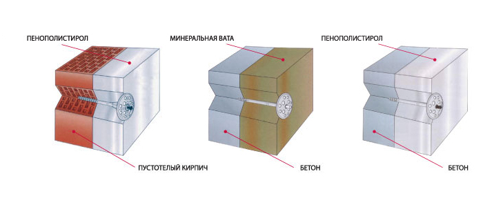 Дюбель для теплоизоляции Tech-Krep IZM 10х220 мм с металлическим гвоздем