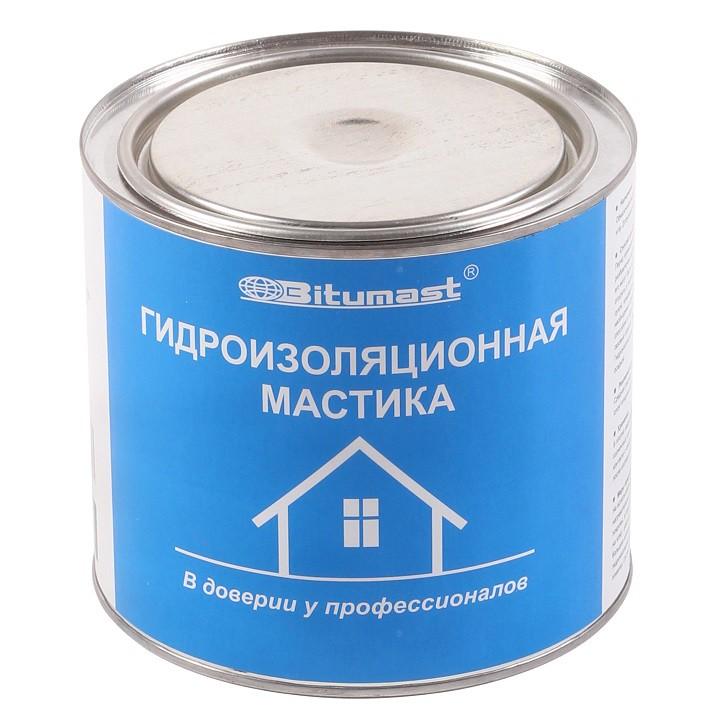 Мастика гидроизоляционная Bitumast 2 л