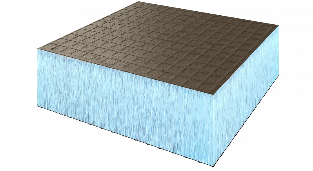 Панель Ruspanel RP 30XPS на основе экструдированного пенополистирола Styrofoam двухсторонняя 2500х600х30 мм