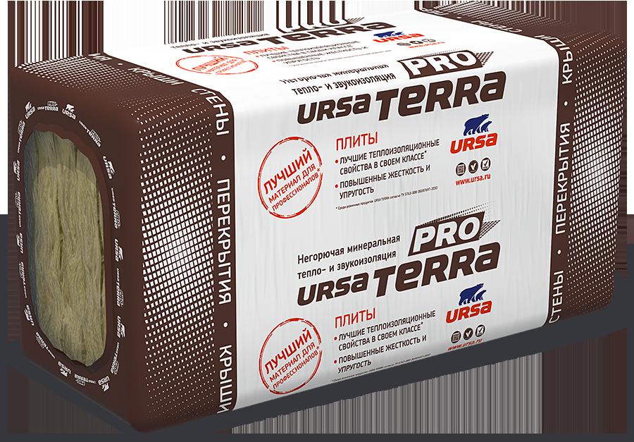Теплоизоляция Ursa Terra 34 PN Шумозащита 1250х610х100 мм
