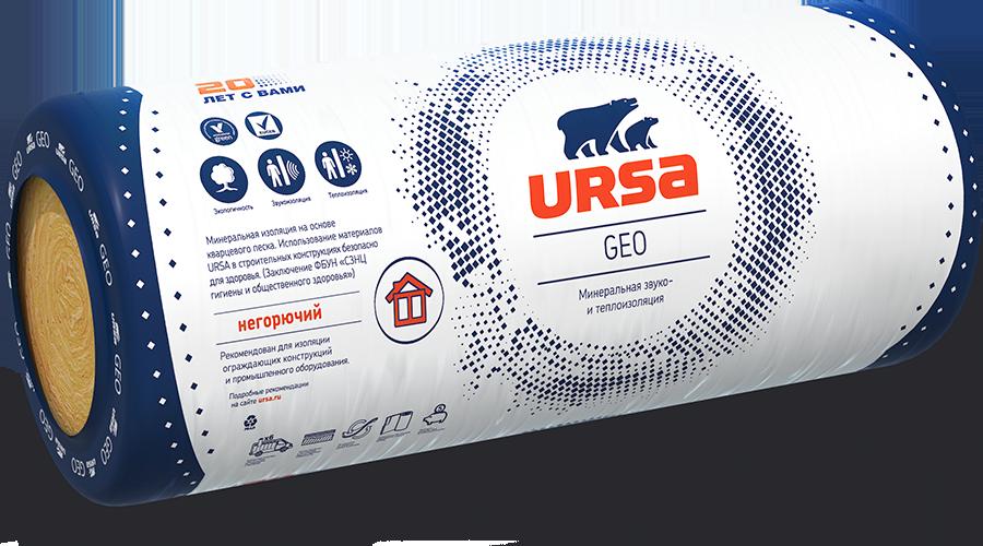 Утеплитель URSA Geo М-15 (7000х1200х150 мм)