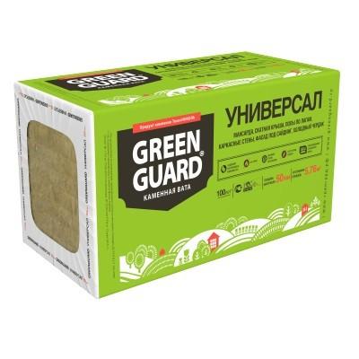Базальтовая вата Greenguard Универсал 1200х600х50 мм