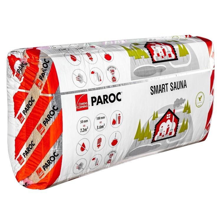 Базальтовая вата Paroc Smart Sauna 1200х600х50 мм