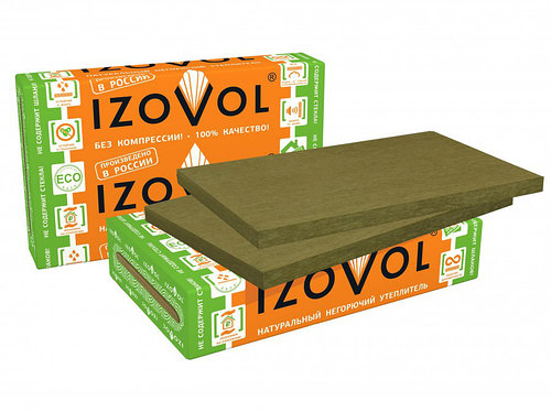 Теплоизоляция Izovol Ф-120 1000×600х100 мм