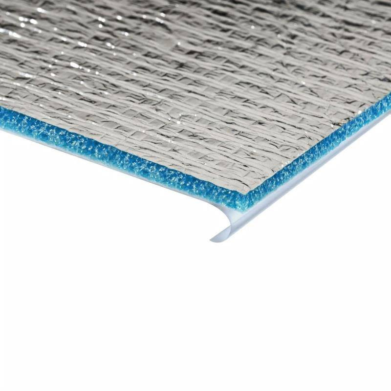 Полиэтилен вспененный Порилекс НПЭ ЛФ тип C 8 мм 0,6х15 м фольгированный для систем кондиционирования