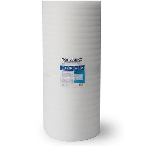 Теплоизоляция из вспененного полиэтилена Порилекс НПЭ 50000х1250х5 мм