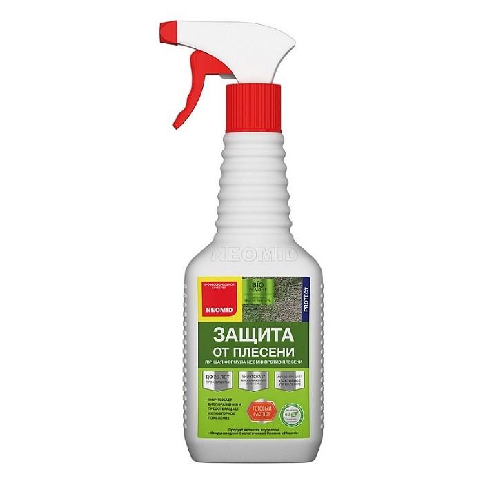 Средство для защиты от плесени Neomid Bio Ремонт готовый раствор 0,5 л