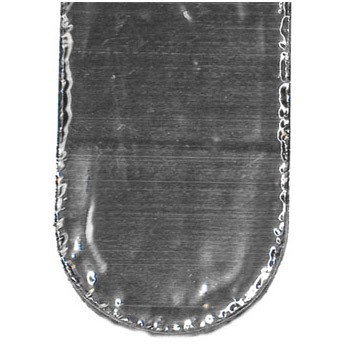 Лента герметизирующая Экобит 10000х100 мм алюминий самоклеящаяся