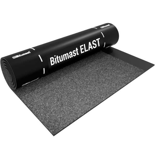 Рулонная кровля Bitumast Elast ЭКП сланец серый