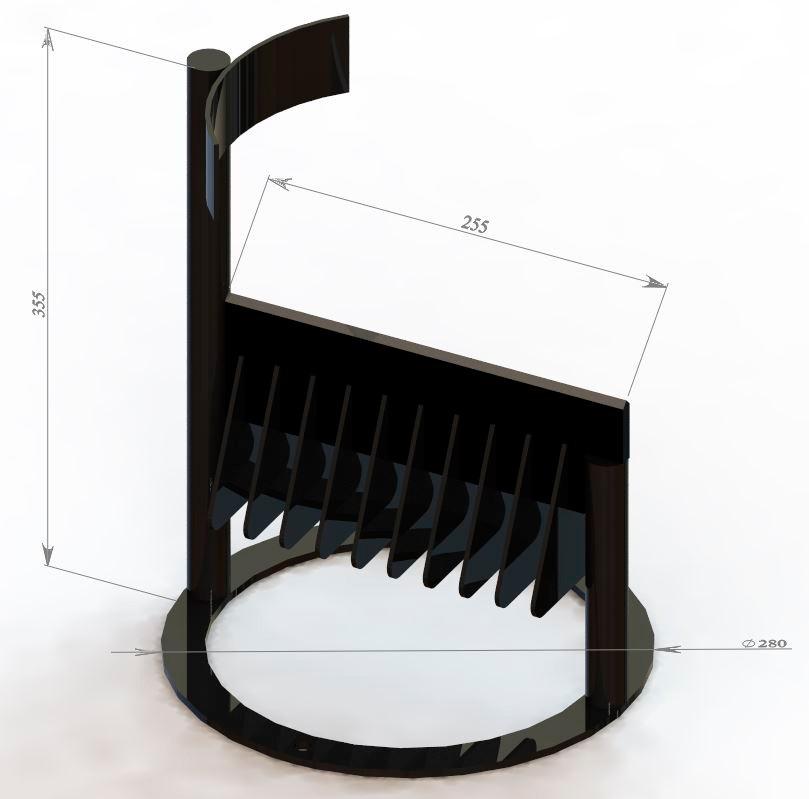 Дровокол ручной Metalex DK300