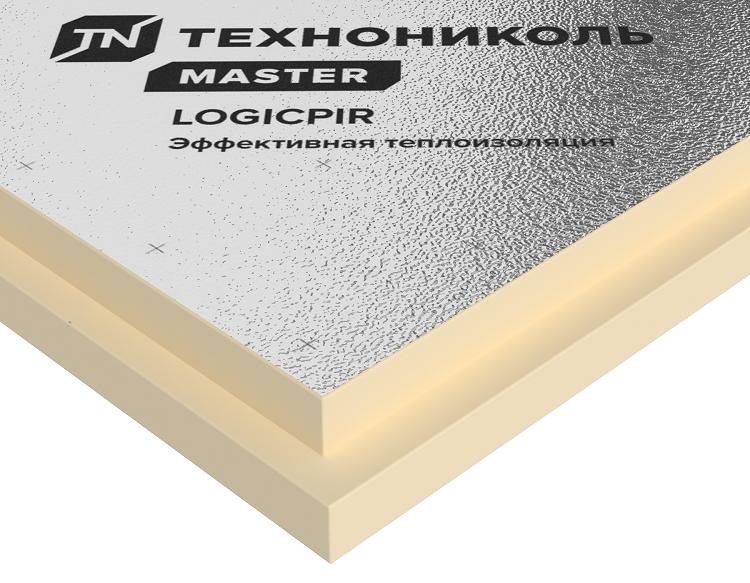 Теплоизоляция Технониколь Logicpir L Баня 1185х585х50 мм