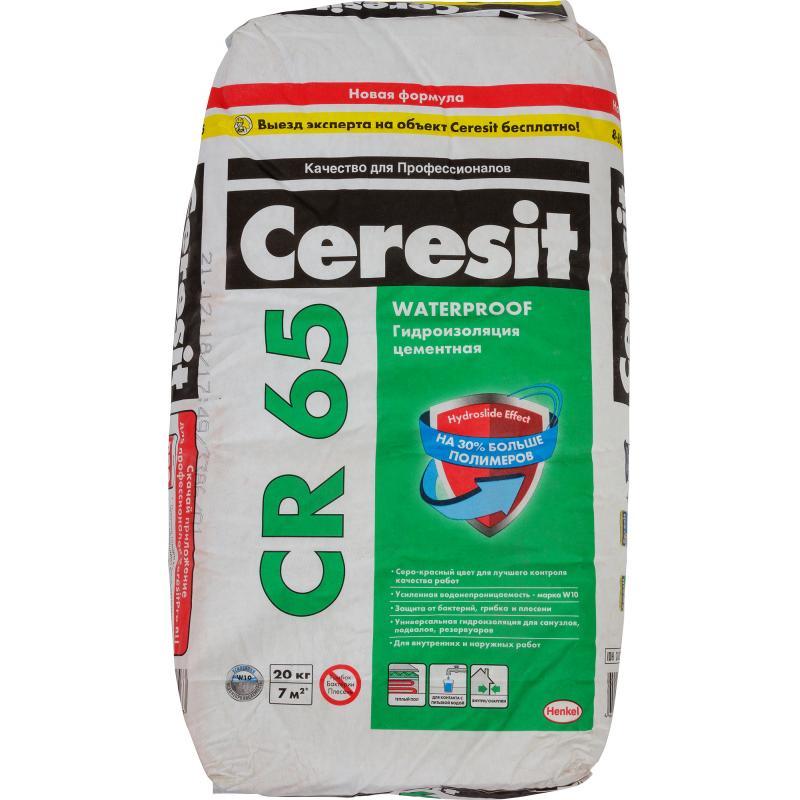 Масса гидроизоляционная Ceresit CR 65 20 кг