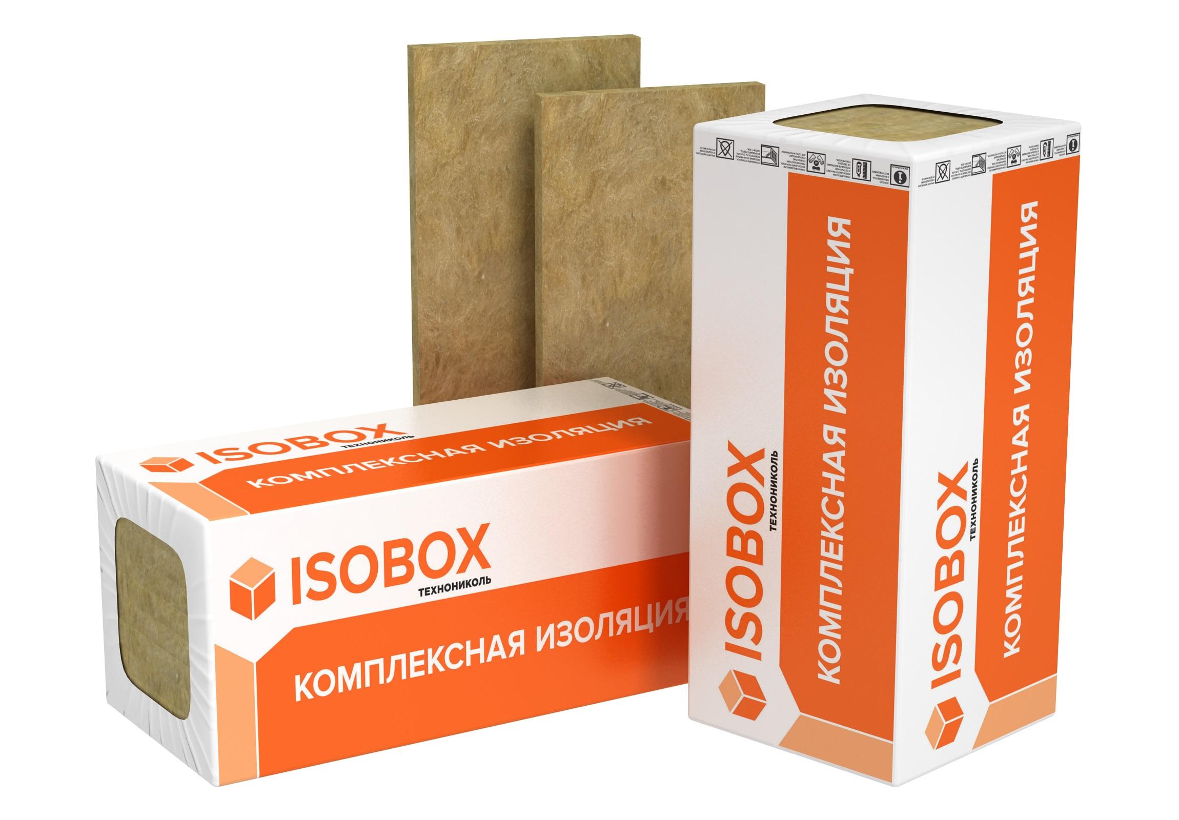 Базальтовая вата Isobox Инсайд 1200х600х50 мм