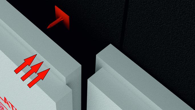 Крепеж Технониколь №2 для фиксации XPS 65х65х78 мм