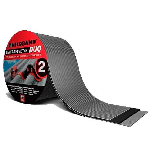 Лента герметизирующая Nicoband Duo 10000х150 мм двухсторонняя самоклеящаяся