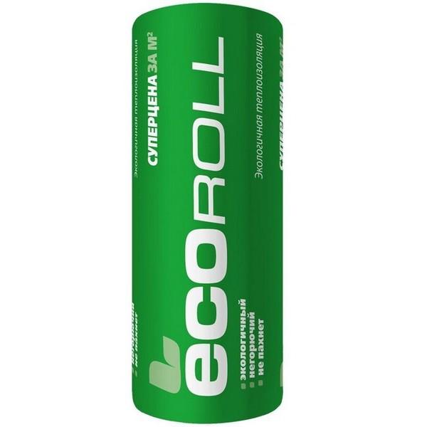 Теплоизоляция EcoRoll Рулон 044 8200х1220х50 мм