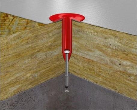 Крепеж телескопический Технониколь 422430 240 мм для фиксации мембран