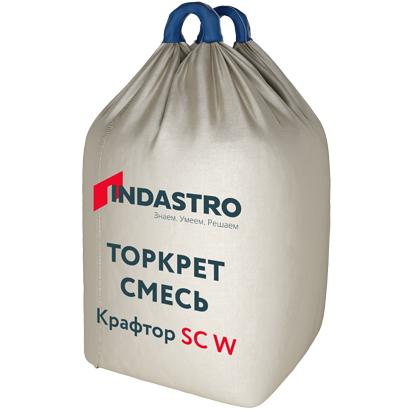 Торкет смесь Индастро Крафтор SС60 W стальная фибра 1000 кг